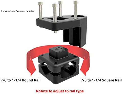 Stealth Fishing Boat Rod Holder Quick Release System And