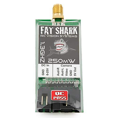 - Fat Shark FSV2466-1G3 250mW TX 1.3GHz 8CH Transmitter(International Version)