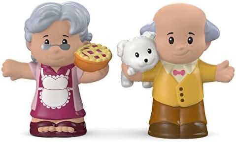 Fisher-Price Little People Great Grandma & Grandpa Toy Figure