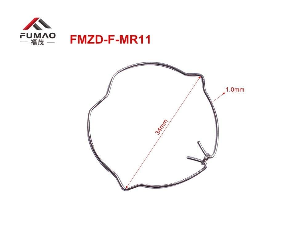Jienie Manufacture Custom Front clips MR11 3W COB downlight retaining spring clip - (Length: FMLY-BJYK-43(20pcs))