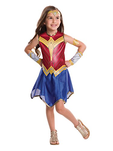 Rubie's Justice League Child's Wonder Woman Costume, -