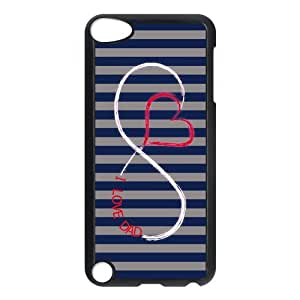 SpecialCasedesign Personalized Father's Day I Love My Dad Infinity Ipod Touch 5th Case Best Durable Back Cover