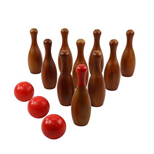 Wooden Bowling Set - 7