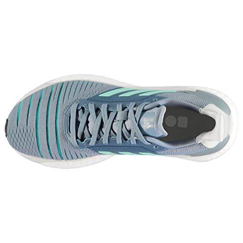 Aqua Womens Running Solar Glide Shoes adidas Grey dTYnaOUwOq
