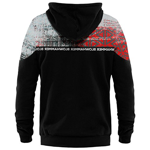 Blowhammer - Kapuzenpullover Herren - Chipped Red ZH
