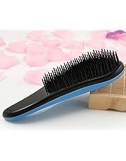 فرشاة لتصفيف الشعر وتسريحه، ازرق