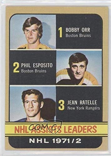 Ratelle; Bobby Orr (Hockey Card) 1972-73 Topps - [Base] #62 ()