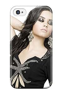 Defender Case For Iphone 4/4s, Demi Lovato Pattern
