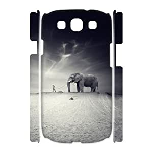 Case Of Elephant Customized Hard Case For Samsung Galaxy S3 I9300