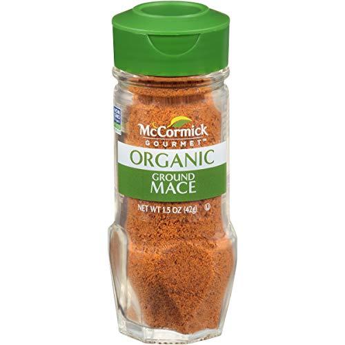 - McCormick Gourmet All Natural Ground Mace, 1.5 oz