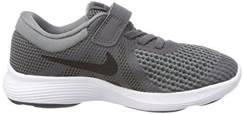 Nike Revolution 4 (PSV), Zapatillas de Entrenamiento Unisex Niños Gris (Dark Grey/Black-Cool Grey-White 005)