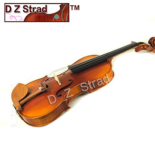Antique 1/4 Violin D Z Strad Model 220 with Open Clear Tone by D Z Strad