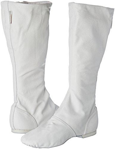 Sansha cb1l Spende Franco Schuh Tanz Charakter für Erwachsene Leder Damen weiß