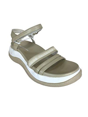 Fornarina Mujer zapatos con correa Beige