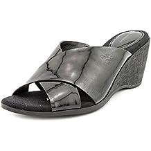 Giani Bernini Carolima Women US 11 Black Wedge Sandal