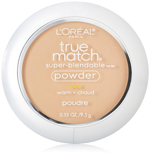 L'Oreal True Match Powder, Natural Beige [W4], 0.33 oz (Pack of 2)