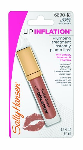 Sally Hansen Lip Inflation, Mocha transparent, 0,2 once