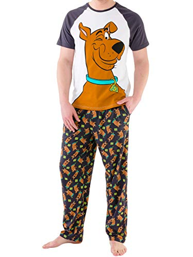 Fun Adult Pajamas - Scooby Doo Mens Pajamas