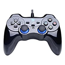 Zhidong V Full Vibration Feedback USB Wired Controller Gamepad Joystick For Windows XP/7/8/8.1 & Android & PS3 (PS Architecture & Xbox360 Engine) - Not support the Xbox 360