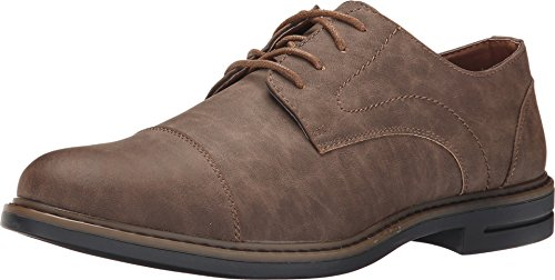 IZOD Men's Cabot Brown Bridge Oxford 9 D (M)