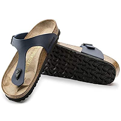 Birkenstock Womens Gizeh Slide Sandal, Blue, 36 M EU