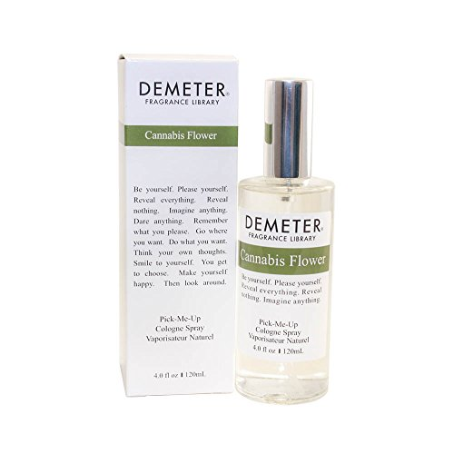 Demeter Cannabis Flower Cologne Spray for Women, 4 Ounce