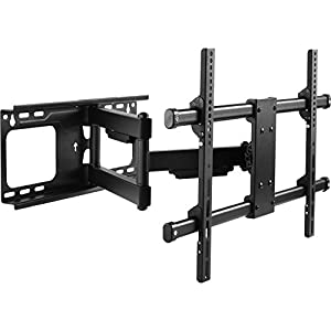 Intecbrackets ® – full motion swivel and tilt heavy duty TV wall bracket – It now easily holds a 48 inch TV on the