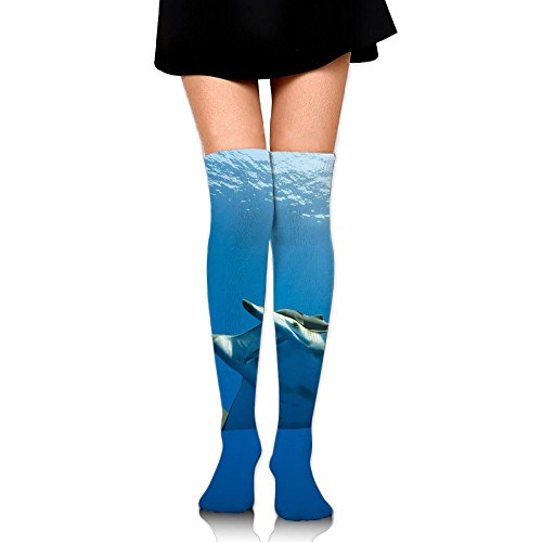 Mobula Animal Over The Knee Long Socks Tube Thigh-High Sock Stockings For Girls & Womens -