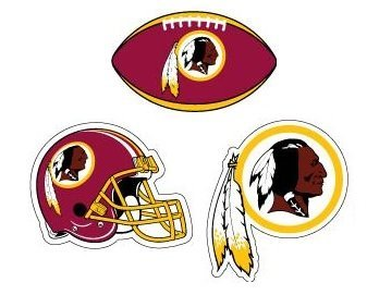 Image Unavailable. Image not available for. Color  NFL Washington Redskins  Stickers ... 3bb19375a