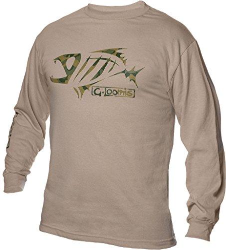 G. Loomis Corpo Long Sleeve Shirt - Sand Camo - Medium