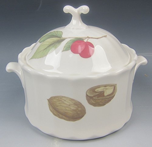 Mikasa China BELLE TERRE Sugar Bowl with Lid EXCELLENT