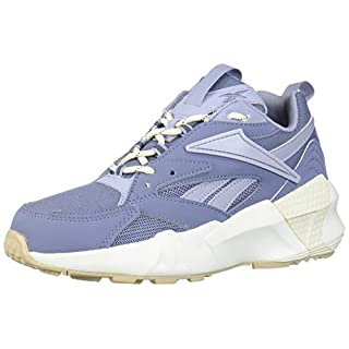 Reebok Women's AZTREK Double Mix POPS Sneaker, Indigo/Denim/White/Chalk, 8 M US