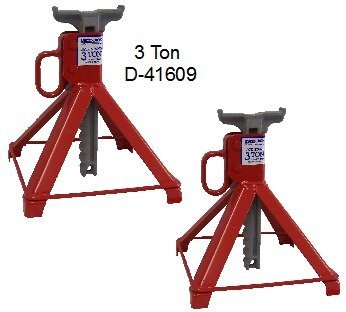 US JACK D-41609 3 Ton Garage Stands Made In USA
