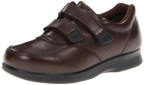 Propet Men's Vista Strap Shoe,Brown,9 3E US