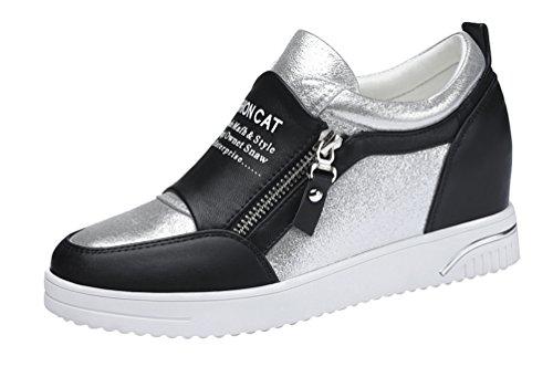 passionow-womens-fashion-zipper-high-increse-within-platform-fashion-sneaker-55-bmusblack