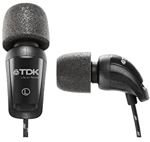 TDK T78067 EB900 - Auriculares intraurales, color negro