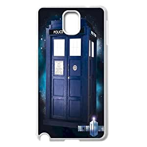 2015 Hot Tardis Doctor Dr Who Police Box Hard Back Case Cover For Samsung Galaxy NOTE3 Case Cover TPUKO-Q790249