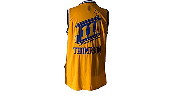 Golden State Warriors 11 klay Thompson, personalizada Amarillo camiseta para hombre Talla XL: Amazon.es: Deportes y aire libre