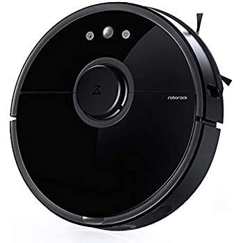 Roborock S5 Robot Vacuum and Mop, Smart Navigating Robotic Vacuum Cleaner with 2000Pa Strong Suction &Wi-Fi connectivity for Pet Hair, Carpet & All Types of ...