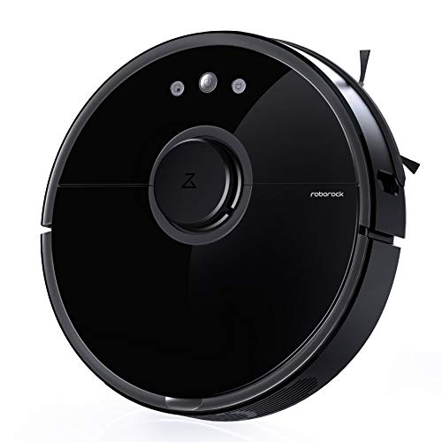 - Roborock S5 Robot Vacuum and Mop, Smart Navigating Robotic Vacuum Cleaner with 2000Pa Strong Suction &Wi-Fi connectivity for Pet Hair, Carpet & All Types of Floor
