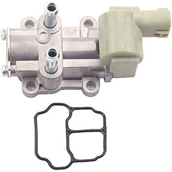 amazon com idle air control valve ac186 iacv iac for honda civic cxmostplus idle air control valve iacv iac for honda civic cx dx ex hx lx gx 1 6l sohc