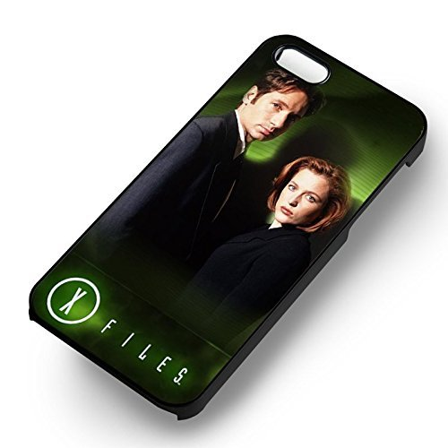 The X Files Mulder and Scully for Cover Iphone 6 and Cover Iphone 6s Case (Black Hardplastic Case) G5R7DX