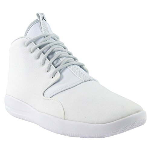 Nike Men's Jordan Eclipse Chukka Basketball Shoes White Black Pure Platinum 100 H5K1Do