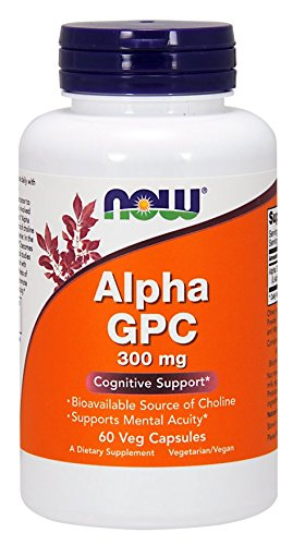 Now Foods Alpha Gpc 300mg, 60 Vcaps by Now Foods B00KO36F4S