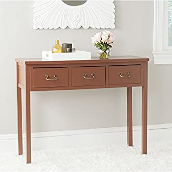 Safavieh American Home Collection Cindy Terracotta Console Table