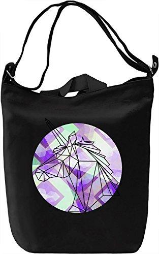 Graphic Unicorn Borsa Giornaliera Canvas Canvas Day Bag  100% Premium Cotton Canvas  DTG Printing 