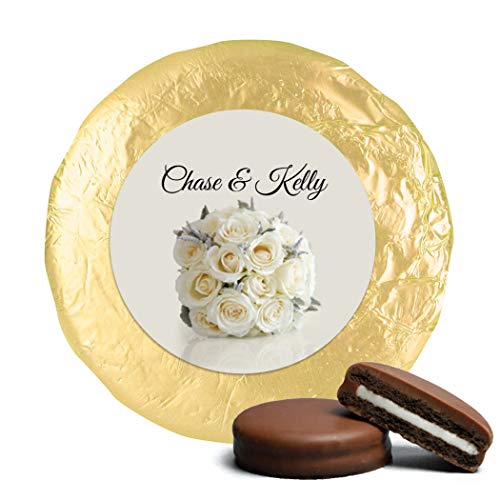 Wedding Favors for Guests Wedding Candy Personalized Milk Chocolate Covered OREO Cookies (24 Pack) - Engagement, Bridal Shower & Rehearsal Dinner Favors