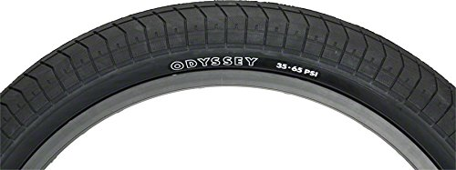 Odyssey Tire - Callaway Odyssey Tires Path Pro Slick Low-Psi 20X2.4 Bk/Blk - T-232-BK