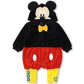 c76e238824865 ベビードール ディズニー なりきりボアロンパース 子供服 DISNEY Collection BABY(70-80)
