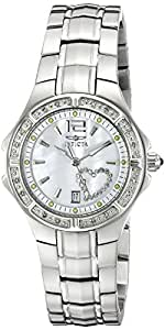 Invicta Women's 6390 Wildflower Collection Diamond Accented Stainless Steel Watch